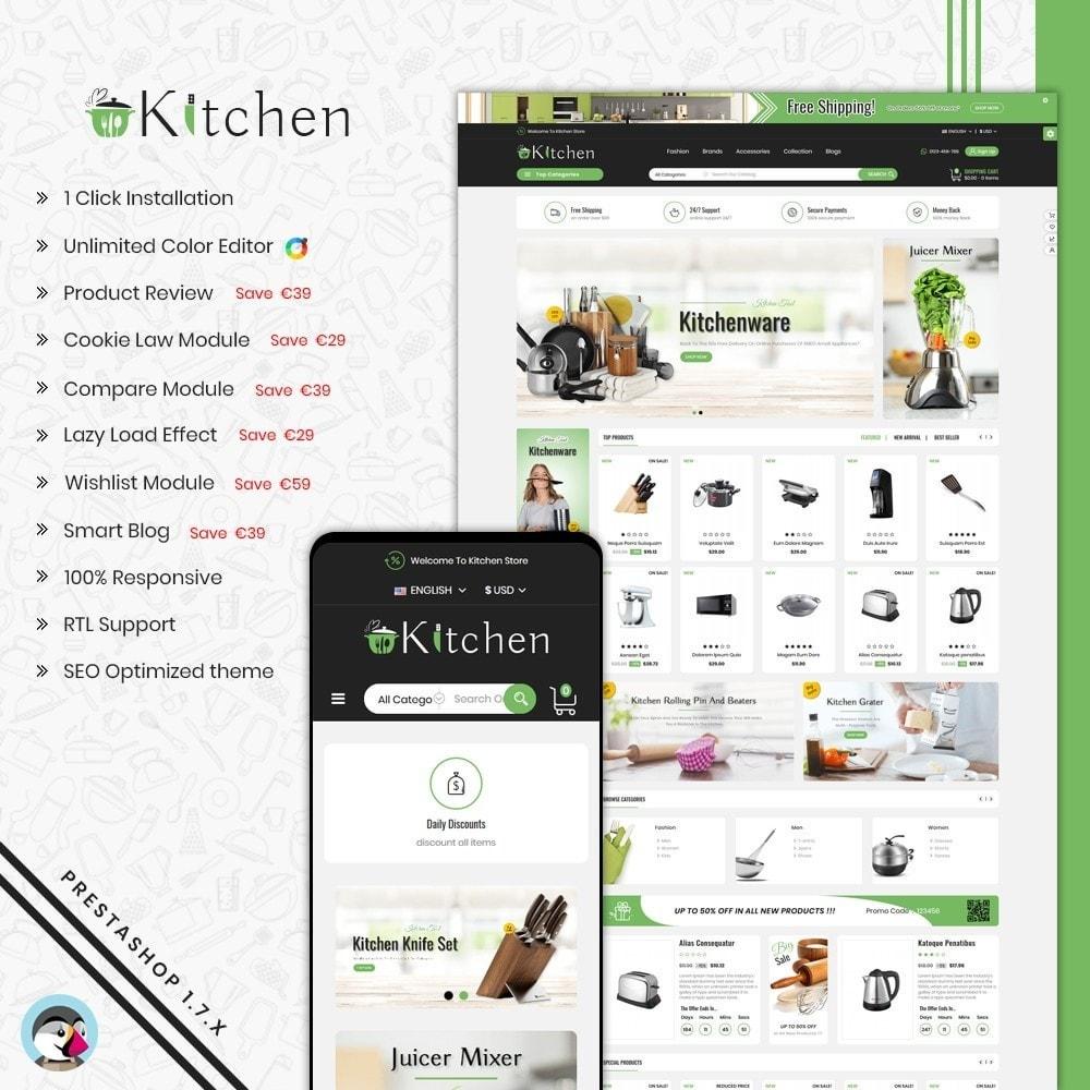 theme - Home & Garden - Kitchen Shop - 1