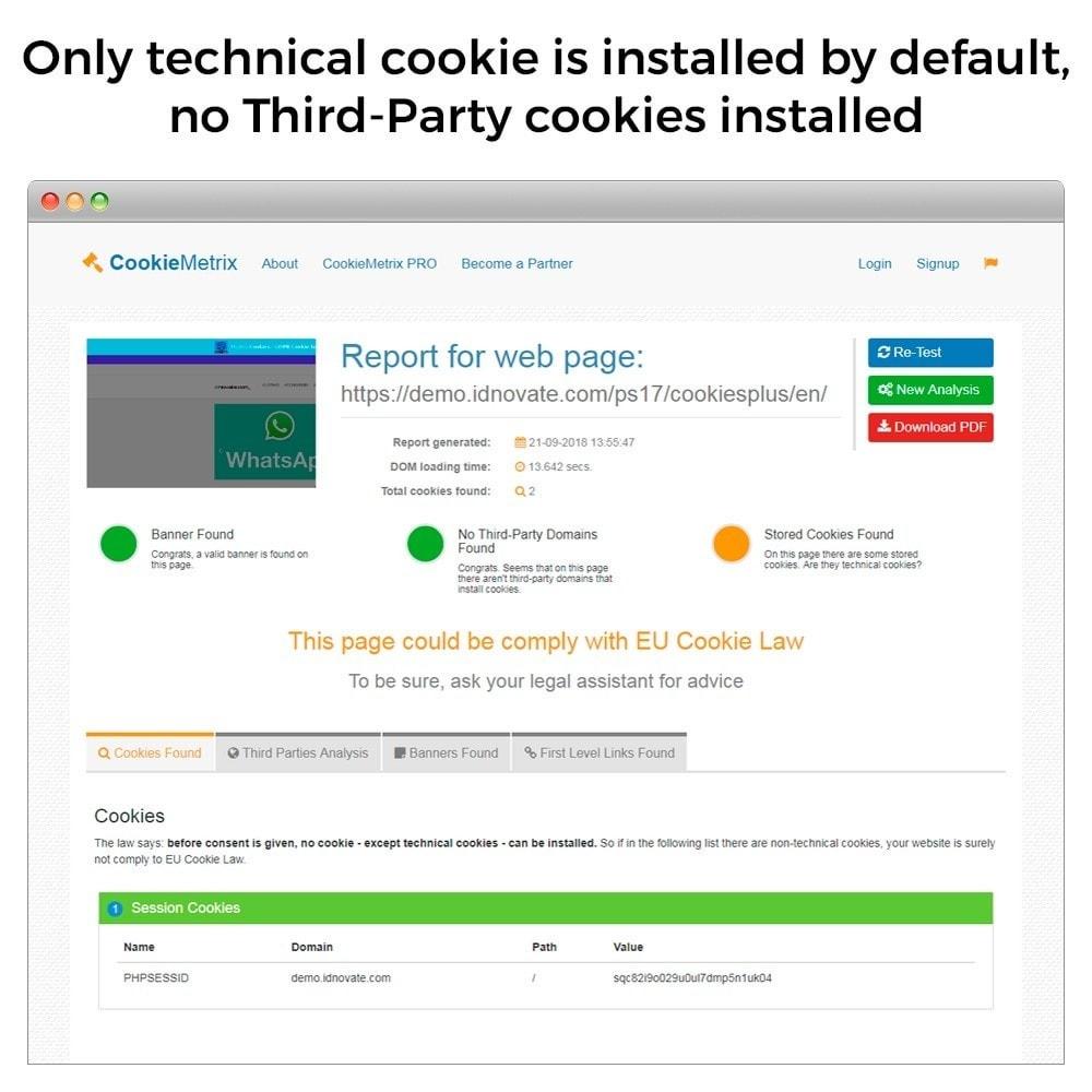 module - Juridisch - GDPR Cookies law (block 3rd party cookies) - GeoIP - 6
