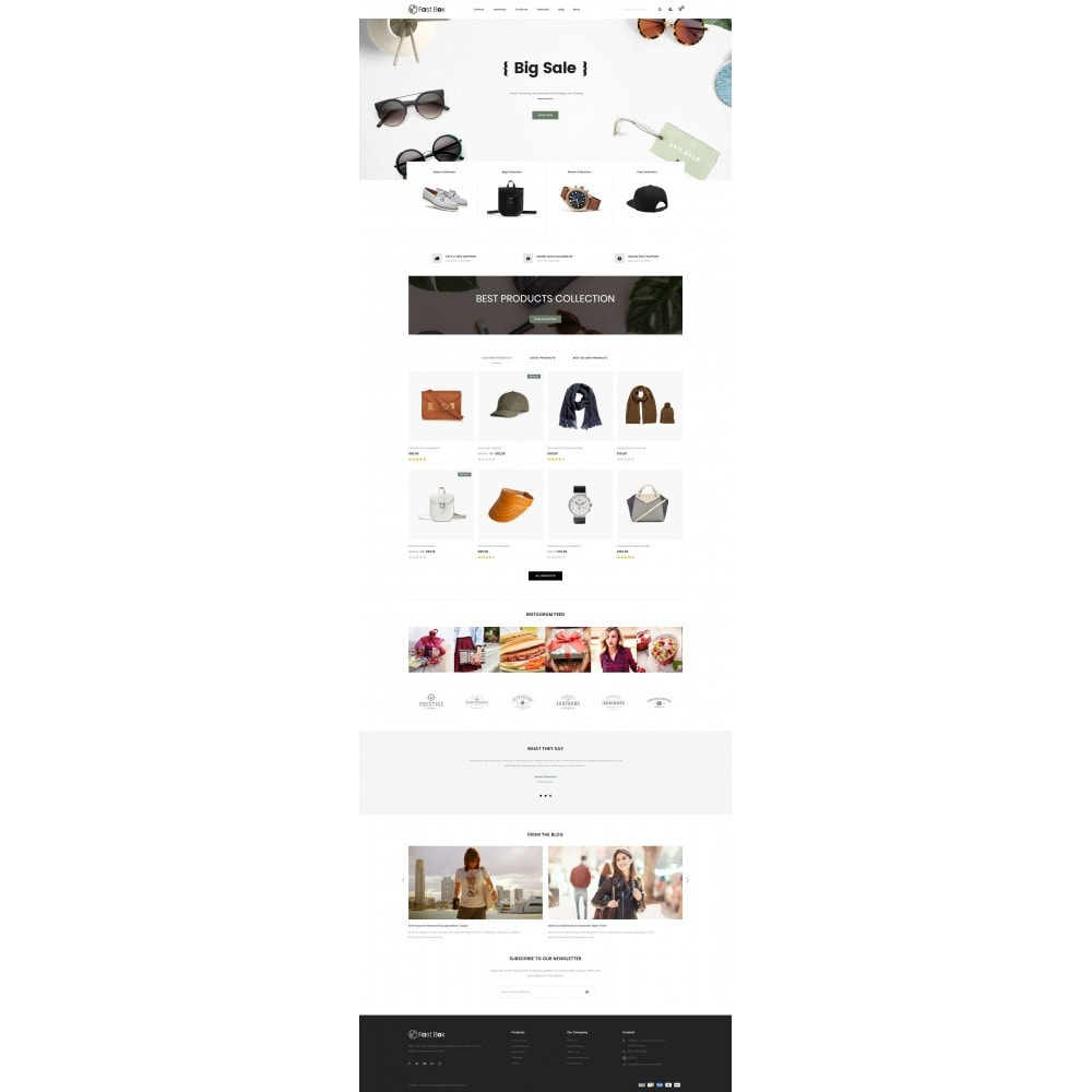theme - Fashion & Shoes - Fast Box - Multipurpose Store - 2