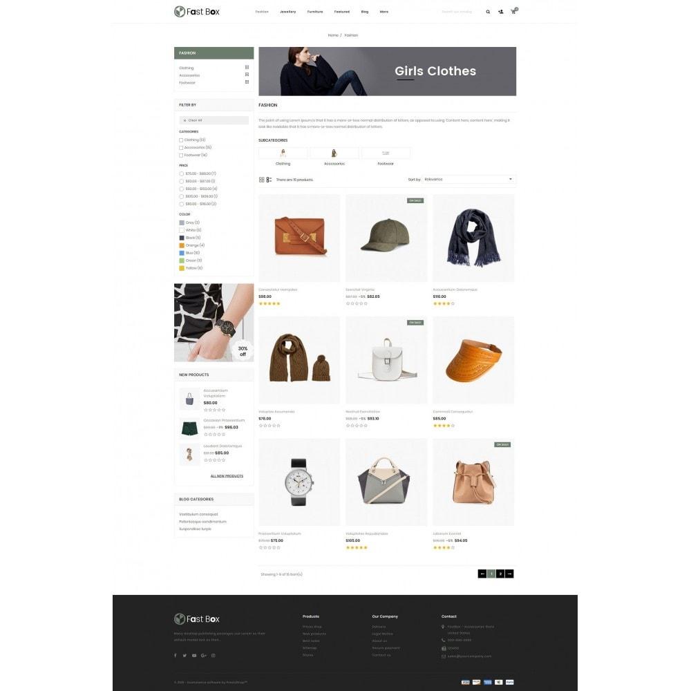 theme - Fashion & Shoes - Fast Box - Multipurpose Store - 3