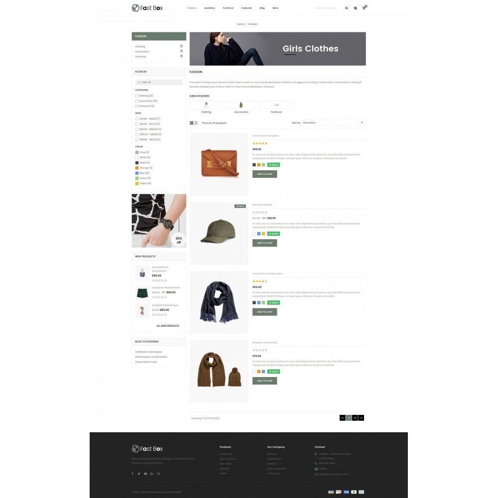 theme - Fashion & Shoes - Fast Box - Multipurpose Store - 4