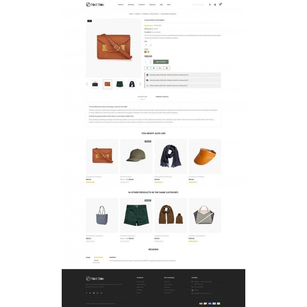 theme - Fashion & Shoes - Fast Box - Multipurpose Store - 5