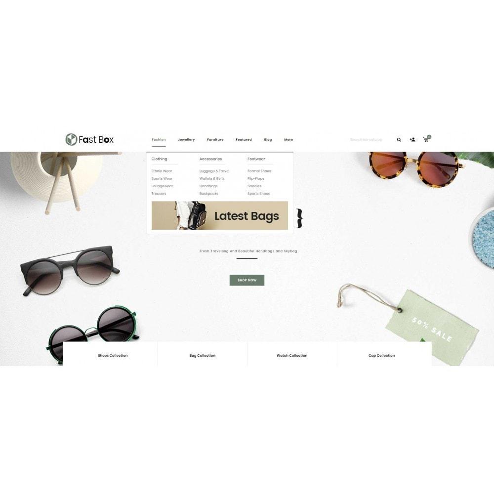 theme - Fashion & Shoes - Fast Box - Multipurpose Store - 8