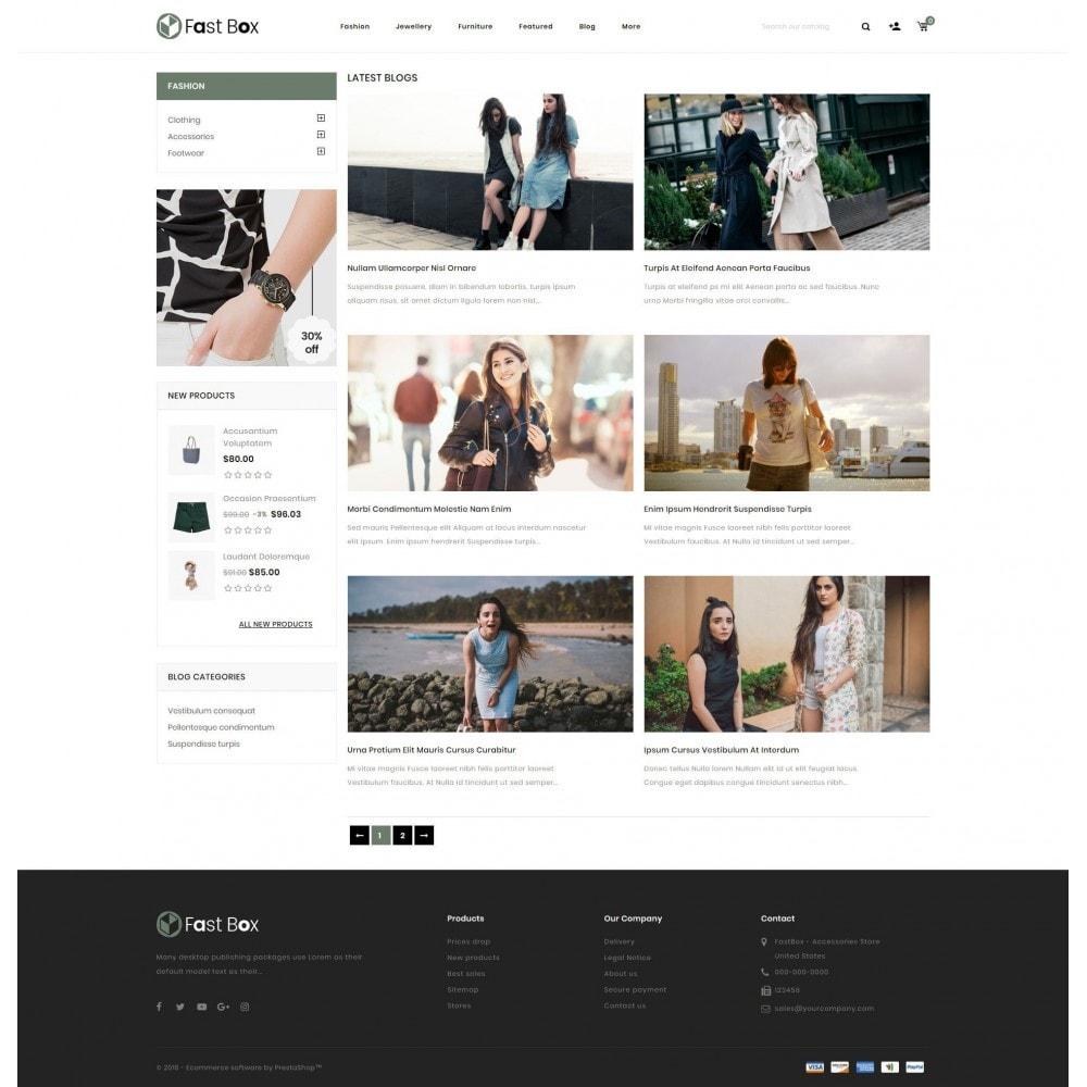 theme - Fashion & Shoes - Fast Box - Multipurpose Store - 9