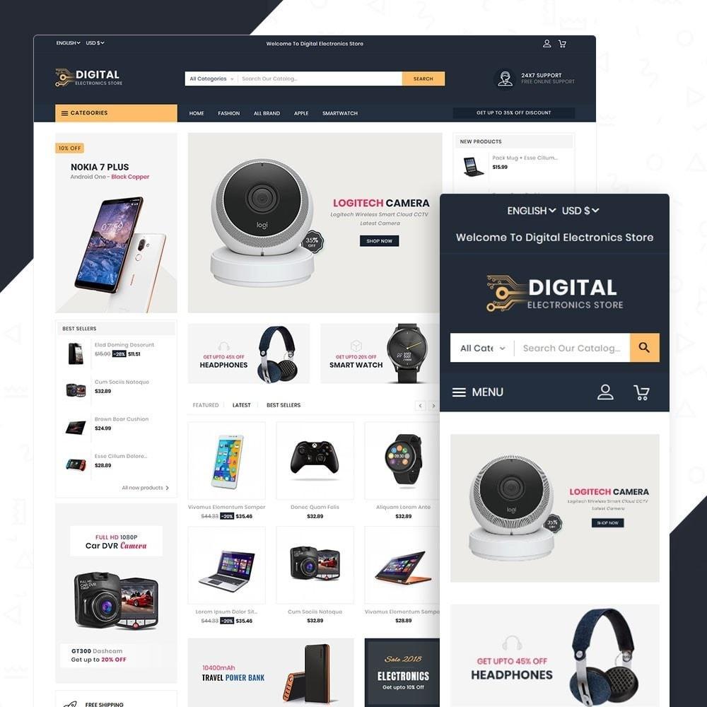 theme - Electronics & Computers - Digital Electronics Store - 1