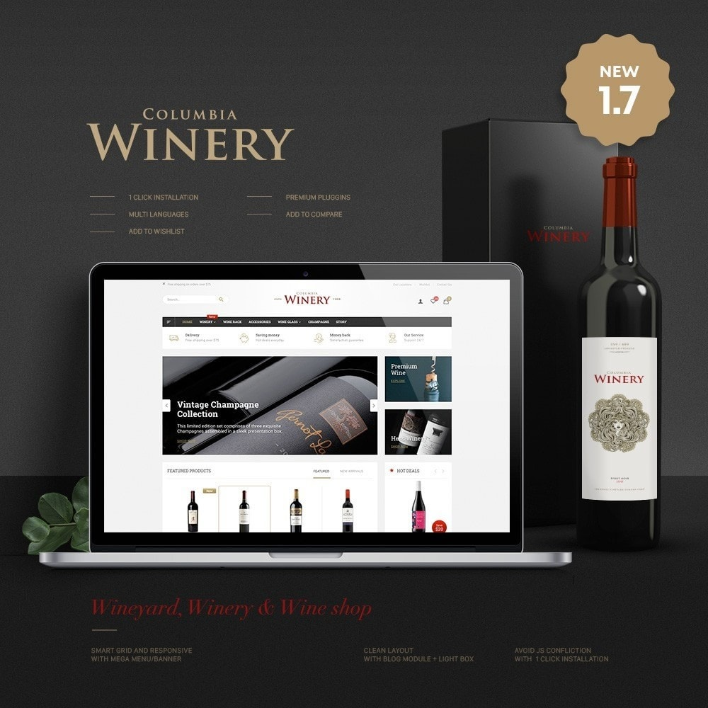 theme - Drink & Tobacco - Winery Store - 1