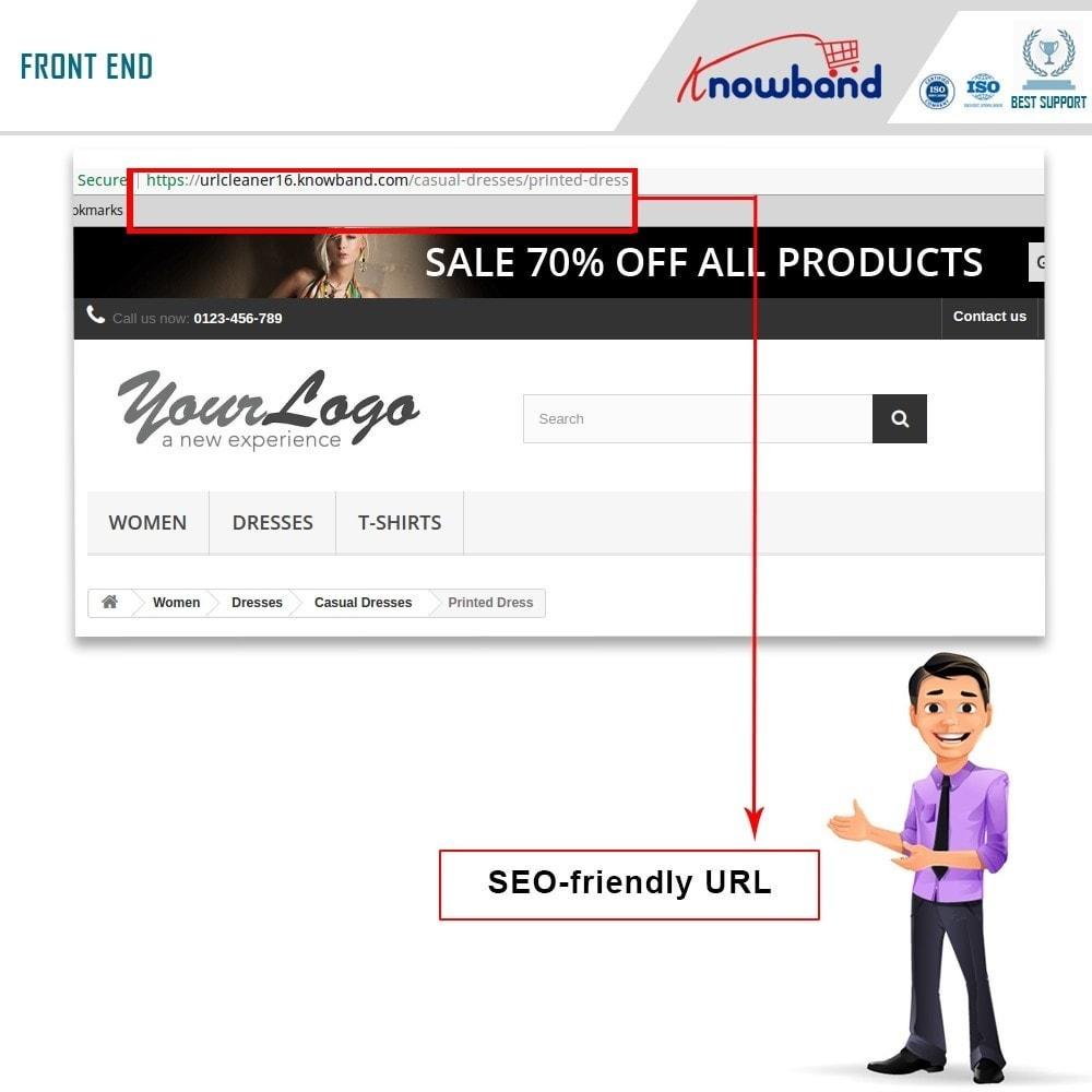 module - URL & Przekierowania - Knowband - SEO Pro - Clean URLs & 301/302/303 Redirects - 2