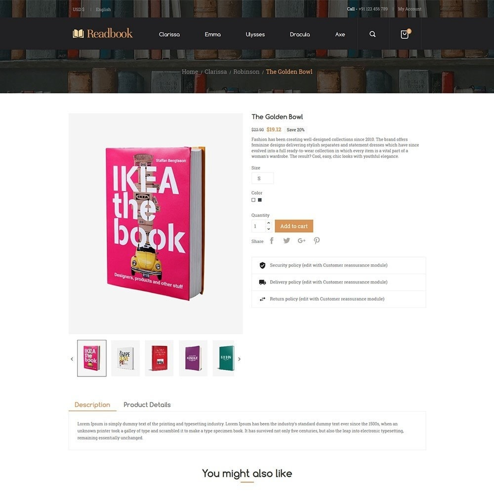 theme - Искусство и Культура - Readbook - Book Store - 3