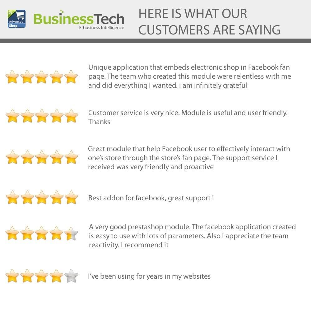 module - Productos en Facebook & redes sociales - Advanced Shop for Fan Page - 2