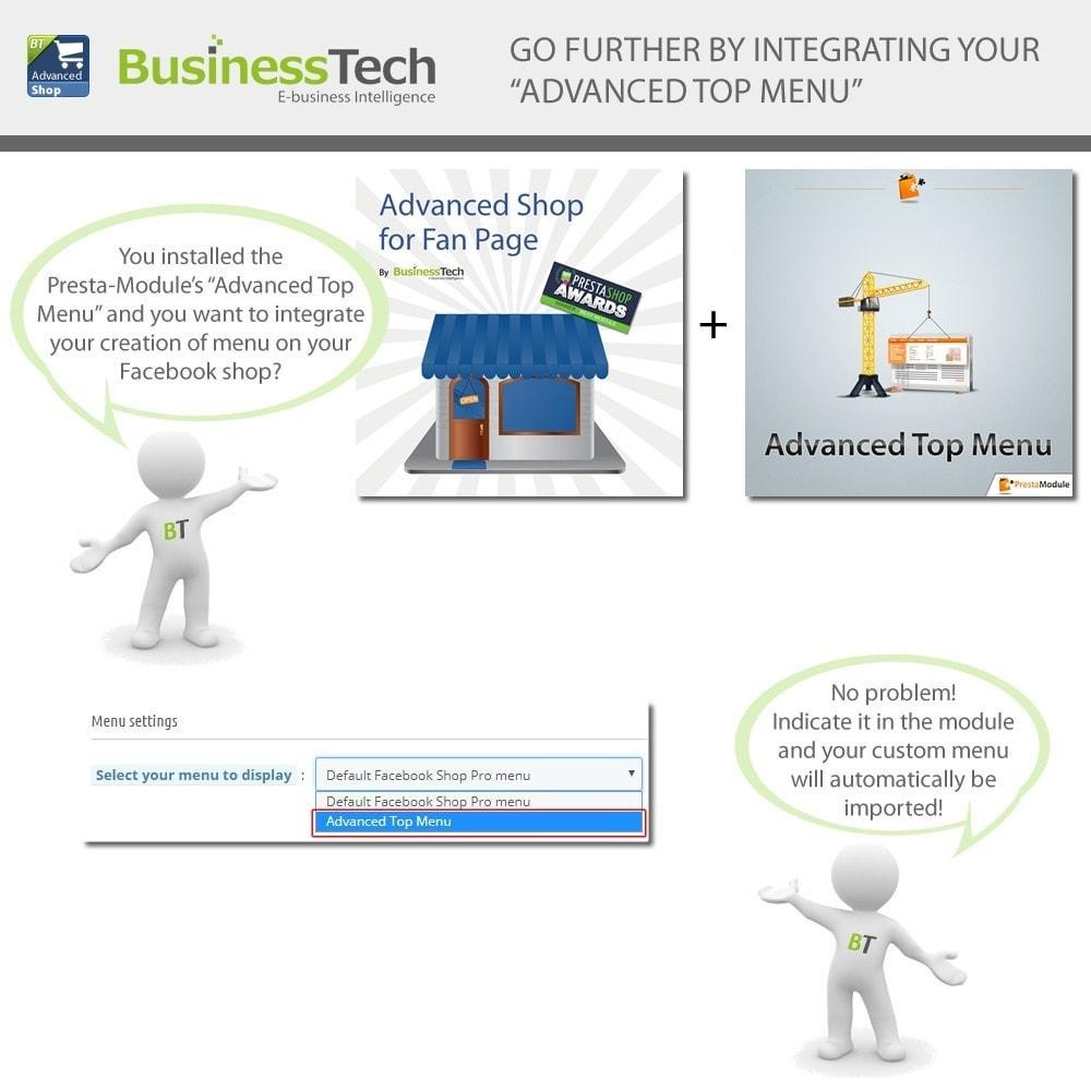 module - Productos en Facebook & redes sociales - Advanced Shop for Fan Page - 6
