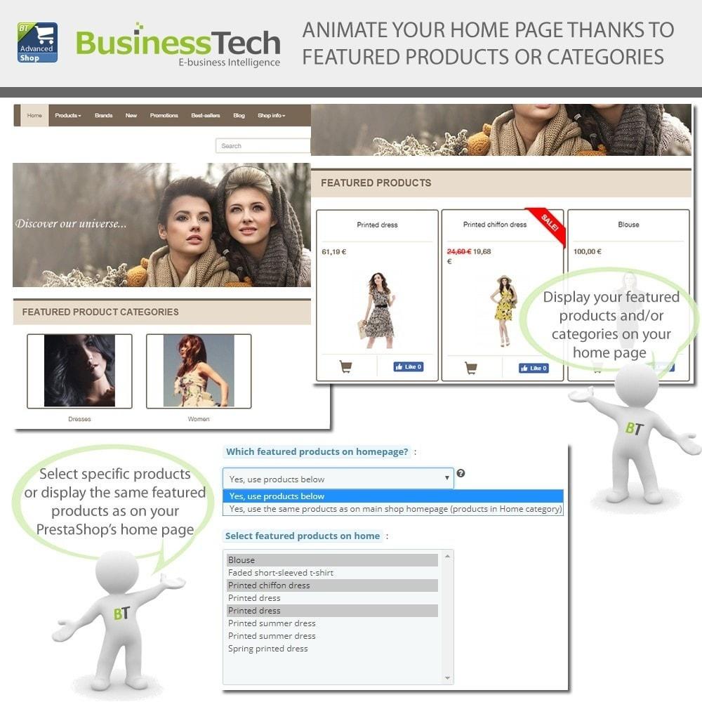 module - Productos en Facebook & redes sociales - Advanced Shop for Fan Page - 9