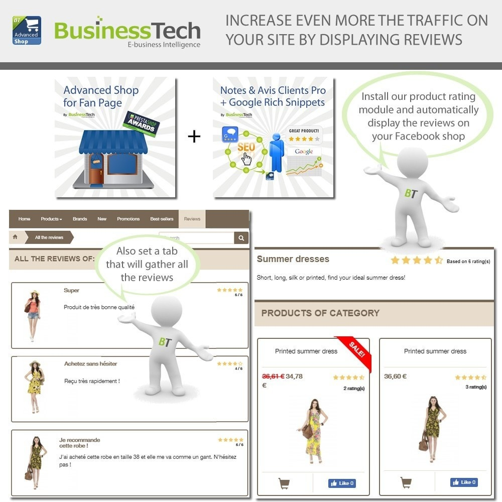 module - Productos en Facebook & redes sociales - Advanced Shop for Fan Page - 12