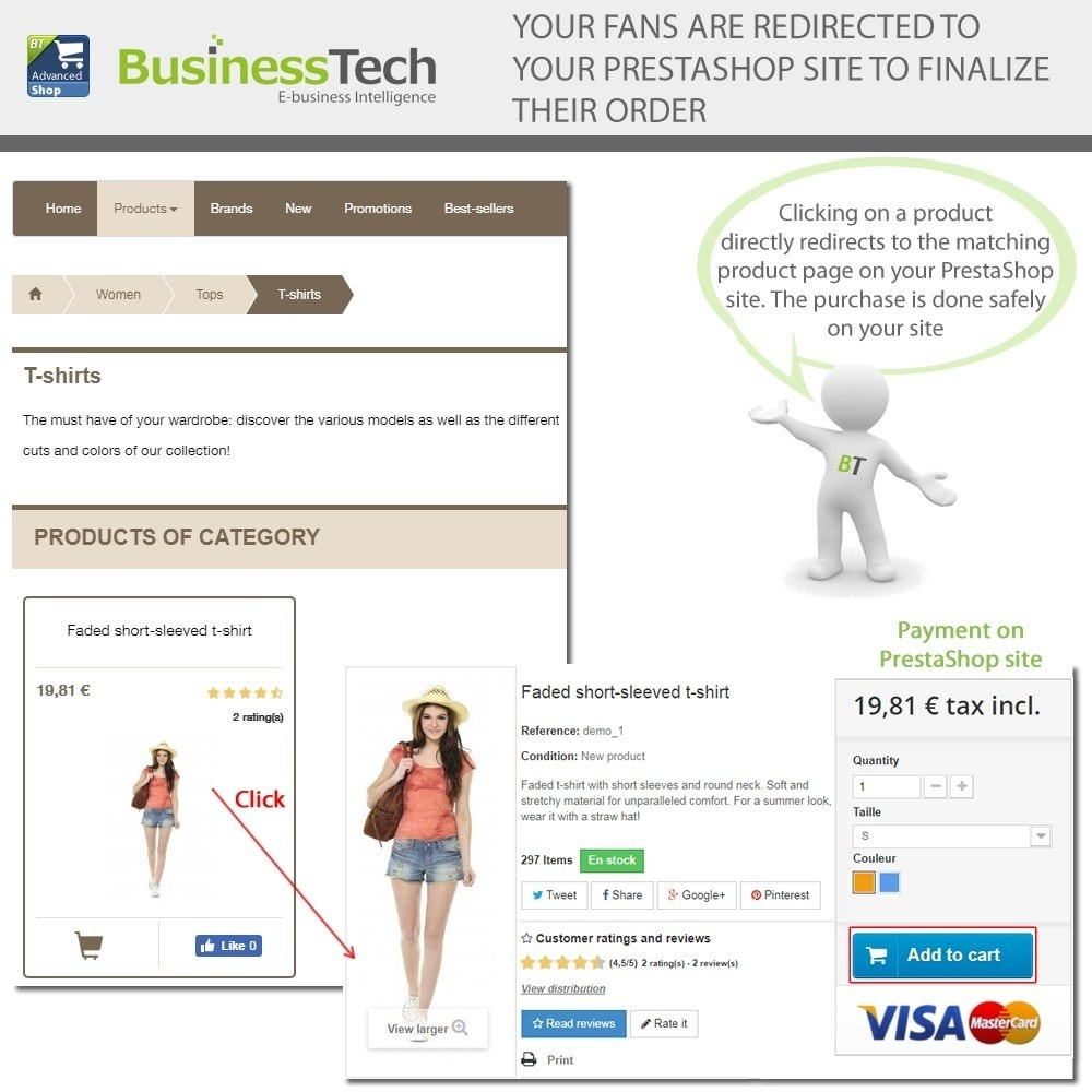 module - Productos en Facebook & redes sociales - Advanced Shop for Fan Page - 13