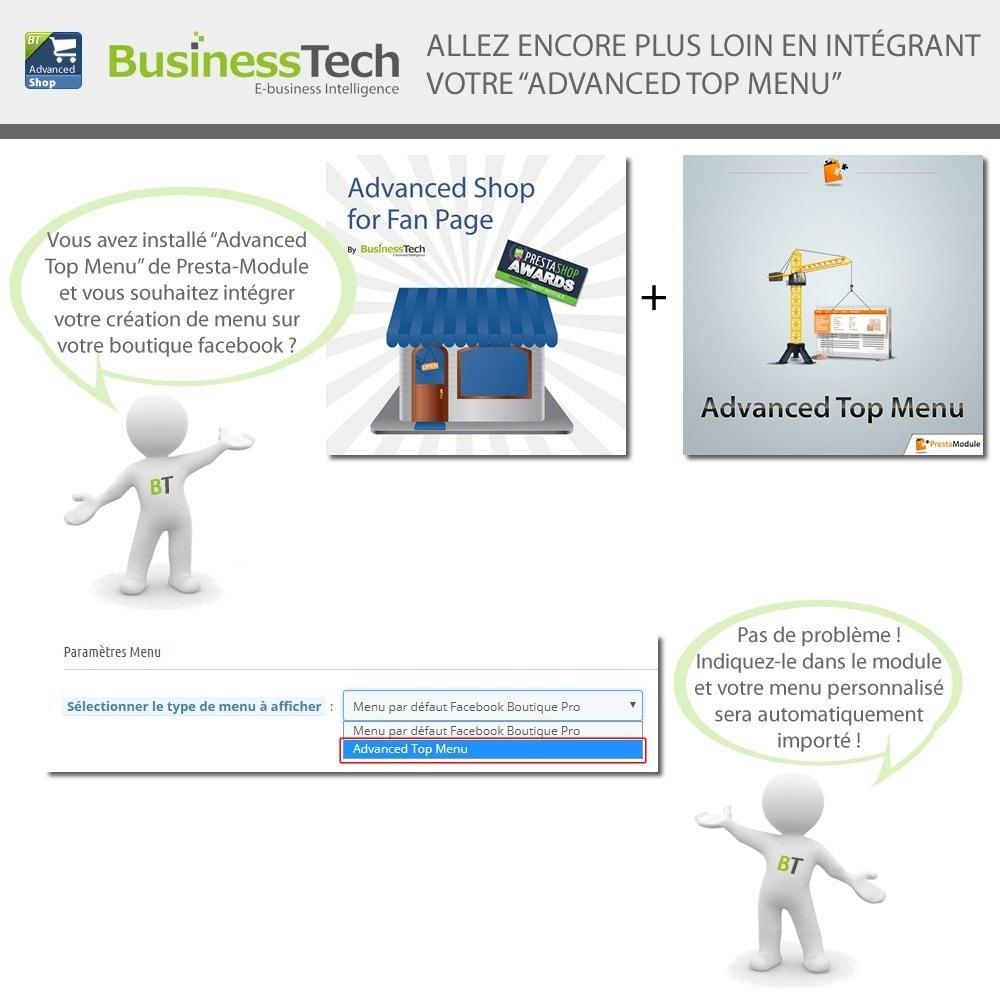 module - Produits sur Facebook & réseaux sociaux - Advanced Shop for Fan Page - 6