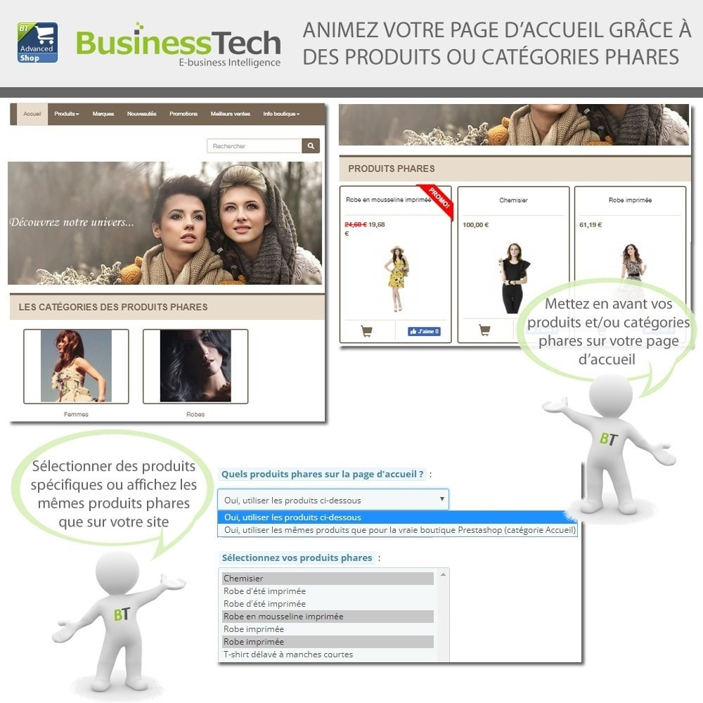 module - Produits sur Facebook & réseaux sociaux - Advanced Shop for Fan Page - 9