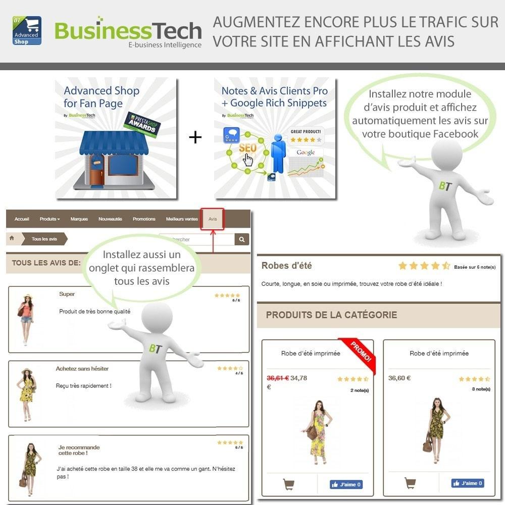 module - Produits sur Facebook & réseaux sociaux - Advanced Shop for Fan Page - 12