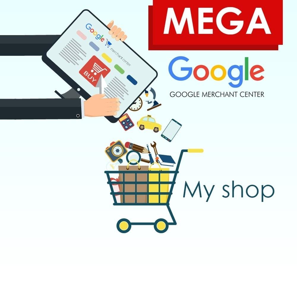 module - Сравнение цен - Mega экспорт товаров в Google Merchants - 1