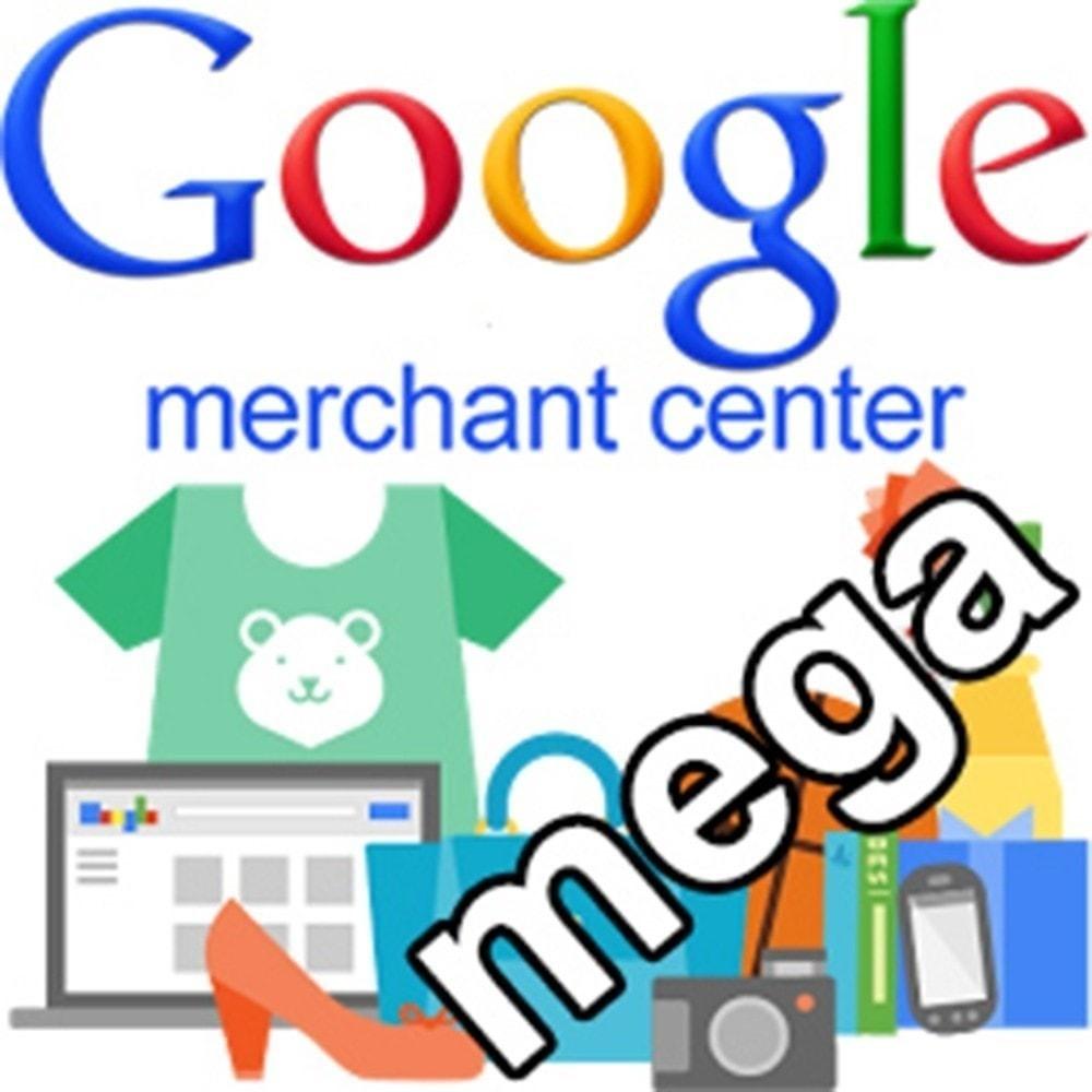 module - Comparateurs de prix - SeoSA Mega Google Merchants (Google Shopping) - 2
