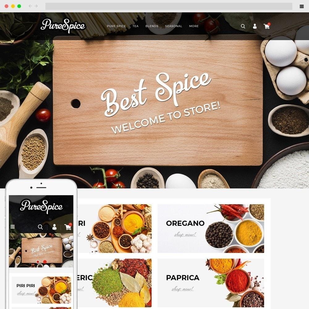 theme - Alimentation & Restauration - Purespice - Food Store - 1