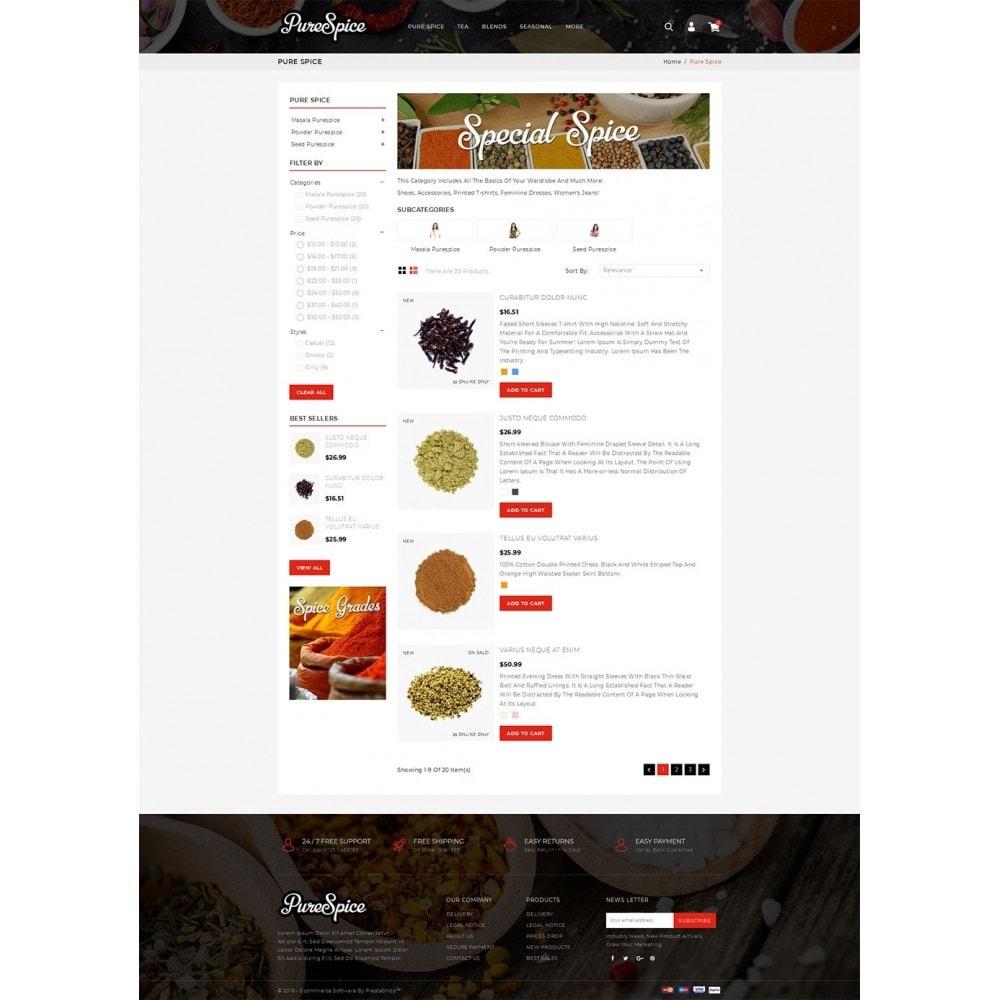 theme - Alimentation & Restauration - Purespice - Food Store - 4