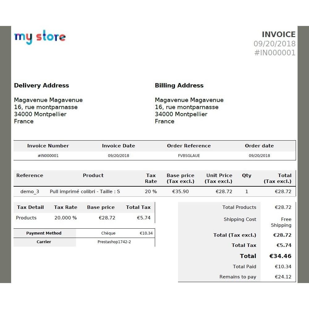 module - Inne środki płatności - Installment payment when ordering - 5