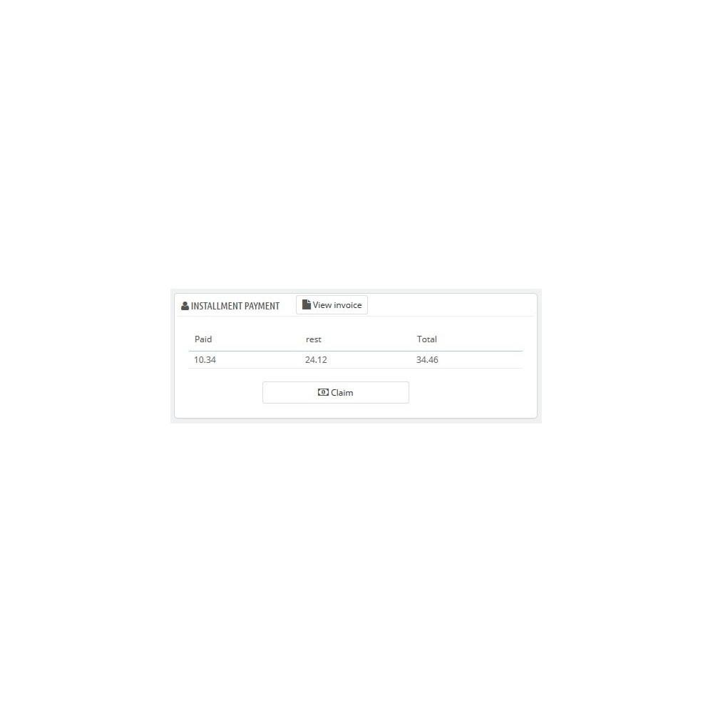 module - Inne środki płatności - Installment payment when ordering - 7