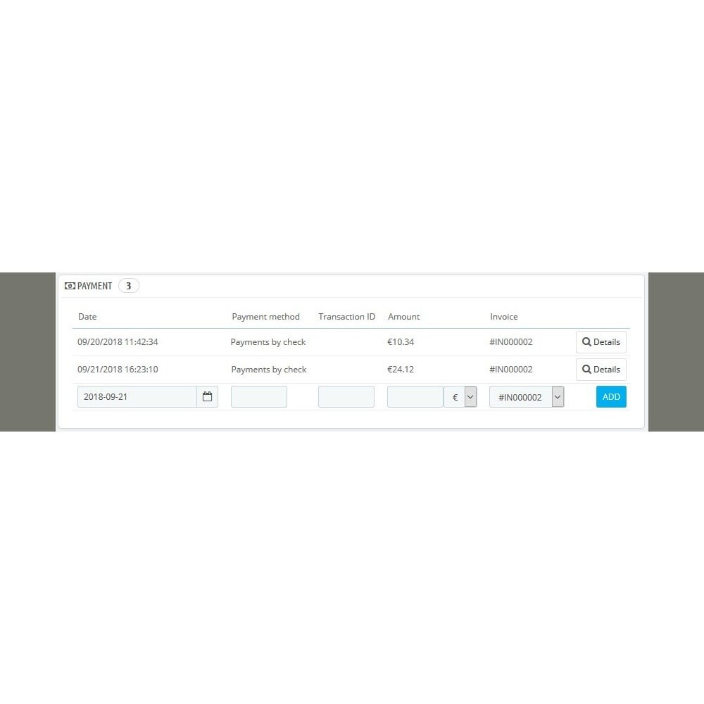 module - Inne środki płatności - Installment payment when ordering - 11
