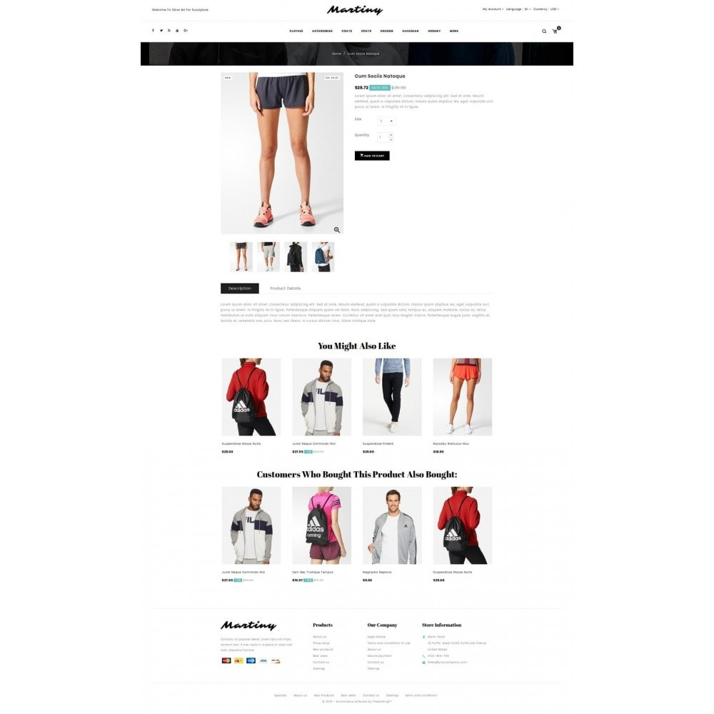 theme - Fashion & Shoes - Martiny - Accessories Store - 4