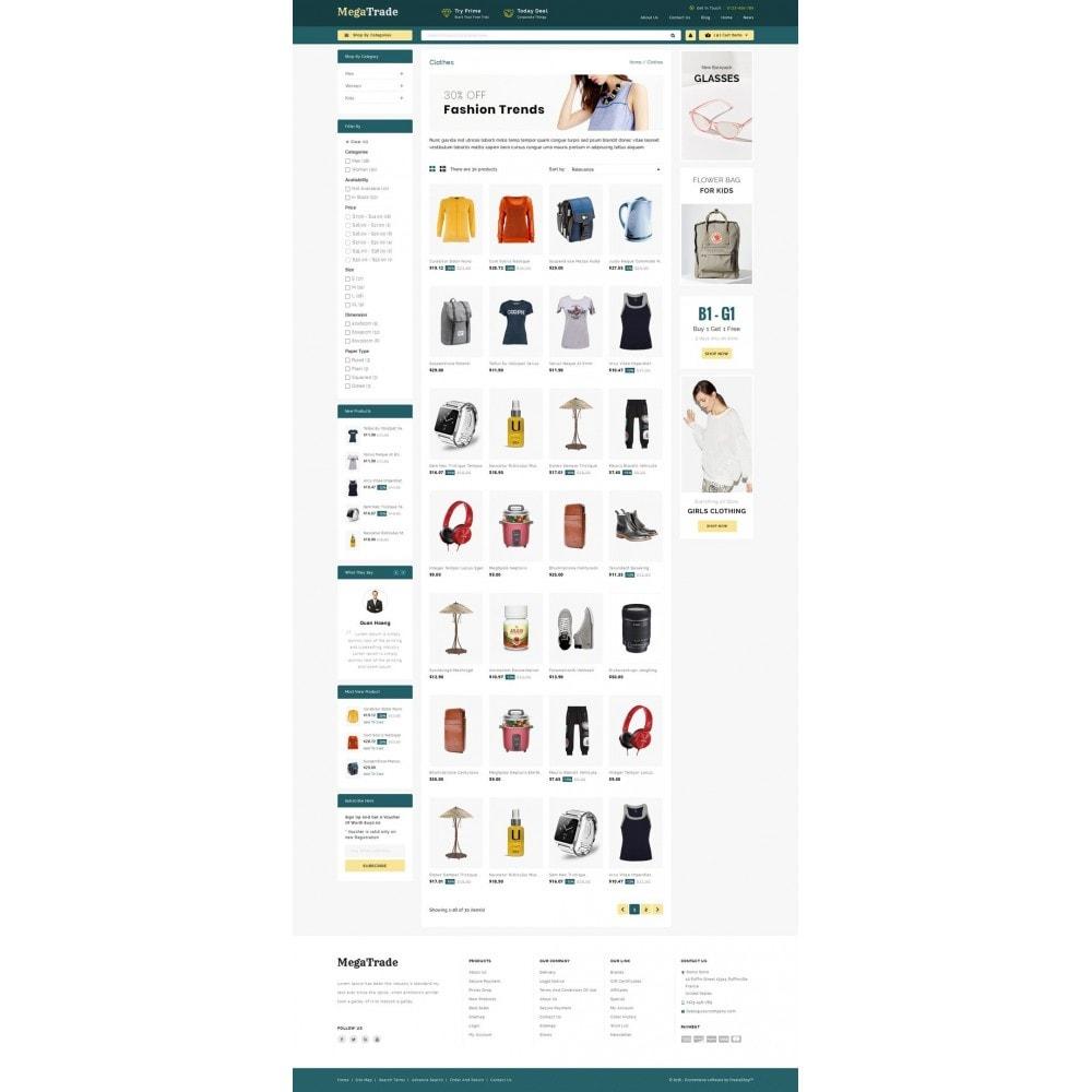 theme - Fashion & Shoes - Mega Trade - Multi Store - 3