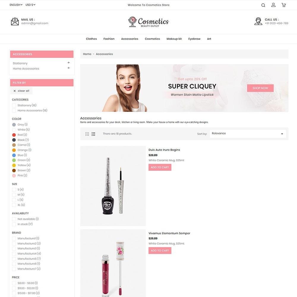theme - Salud y Belleza - Cosmetics beauty store - 3