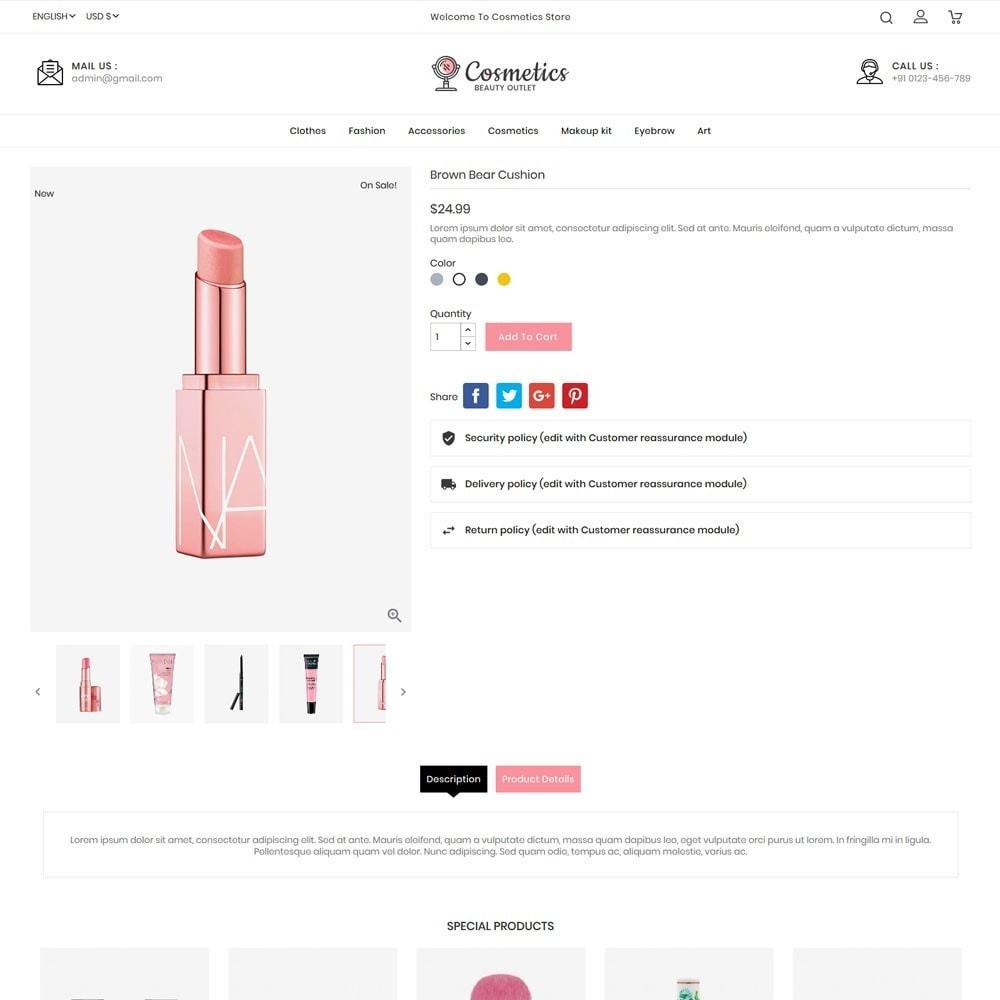 theme - Salud y Belleza - Cosmetics beauty store - 5