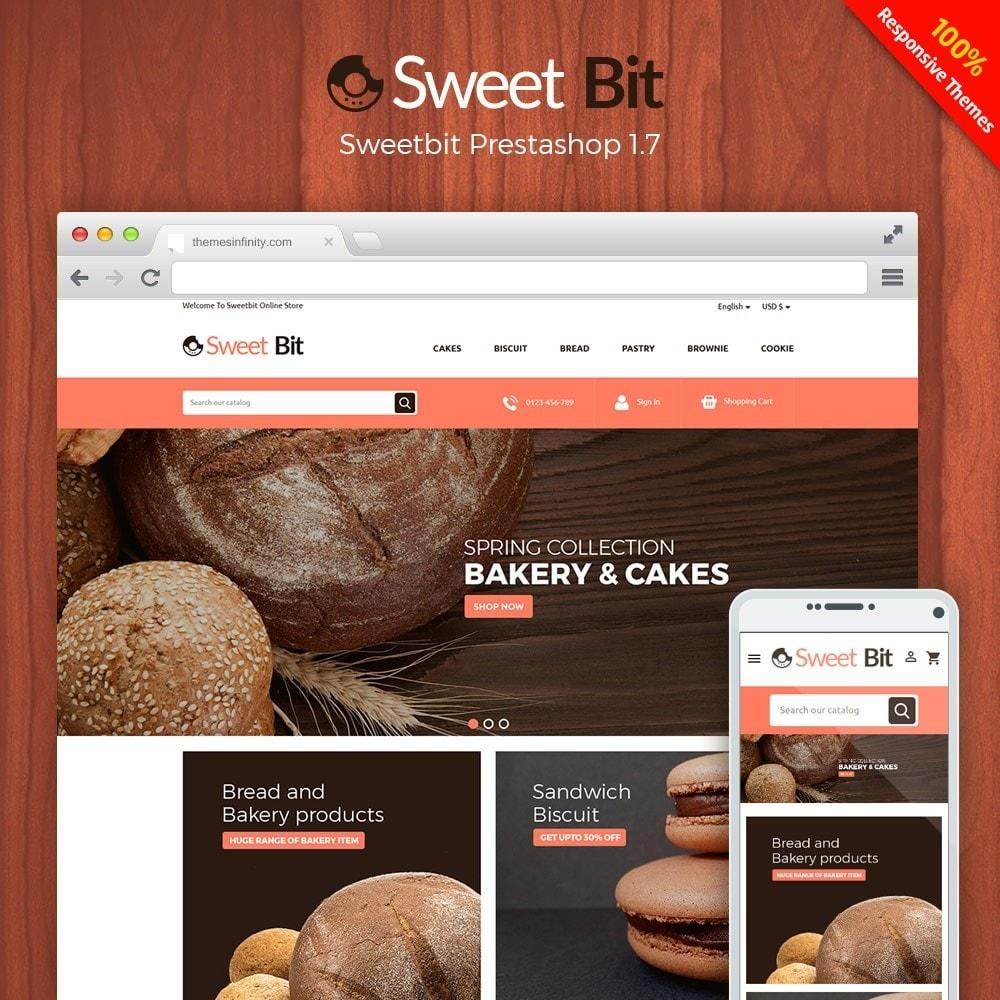 theme - Alimentation & Restauration - Sweetbit - Bakery Online Store - 1
