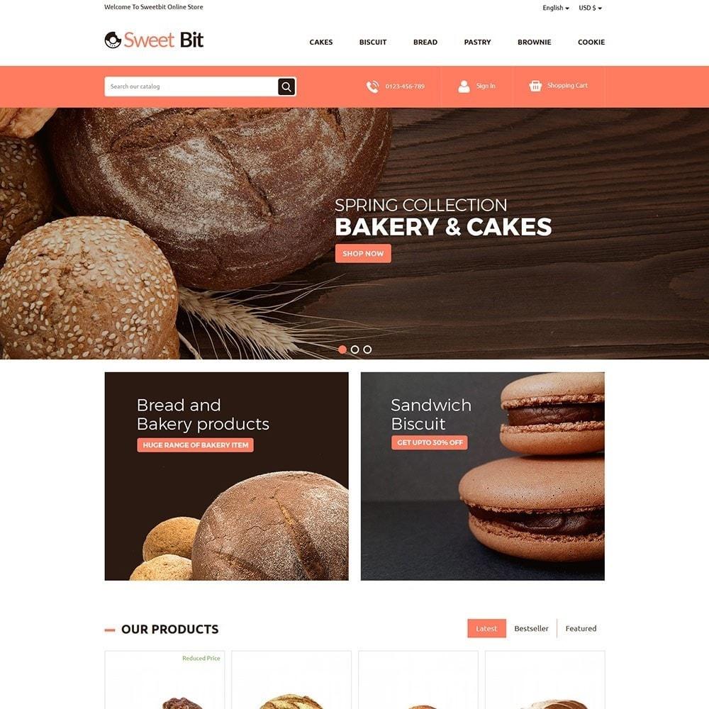 theme - Alimentation & Restauration - Sweetbit - Bakery Online Store - 2