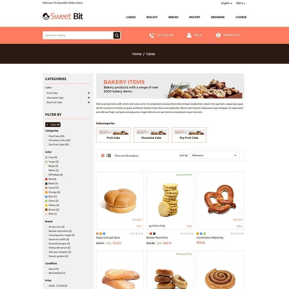 theme - Alimentation & Restauration - Sweetbit - Bakery Online Store - 3