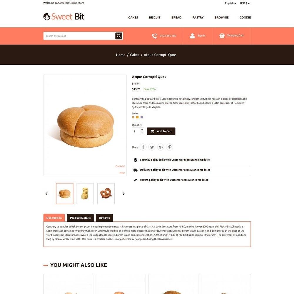 theme - Alimentation & Restauration - Sweetbit - Bakery Online Store - 5