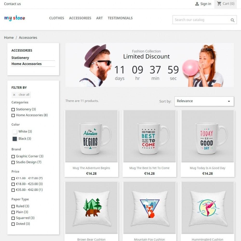 module - Gallerijen & Sliders - Promotion Discount Countdown Banner & Slider - 3