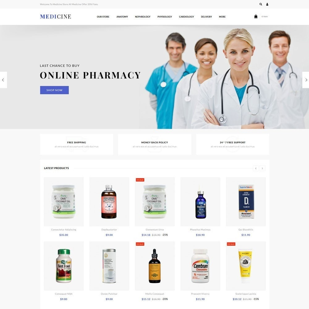 theme - Health & Beauty - Medicine - The Medical Store - 2