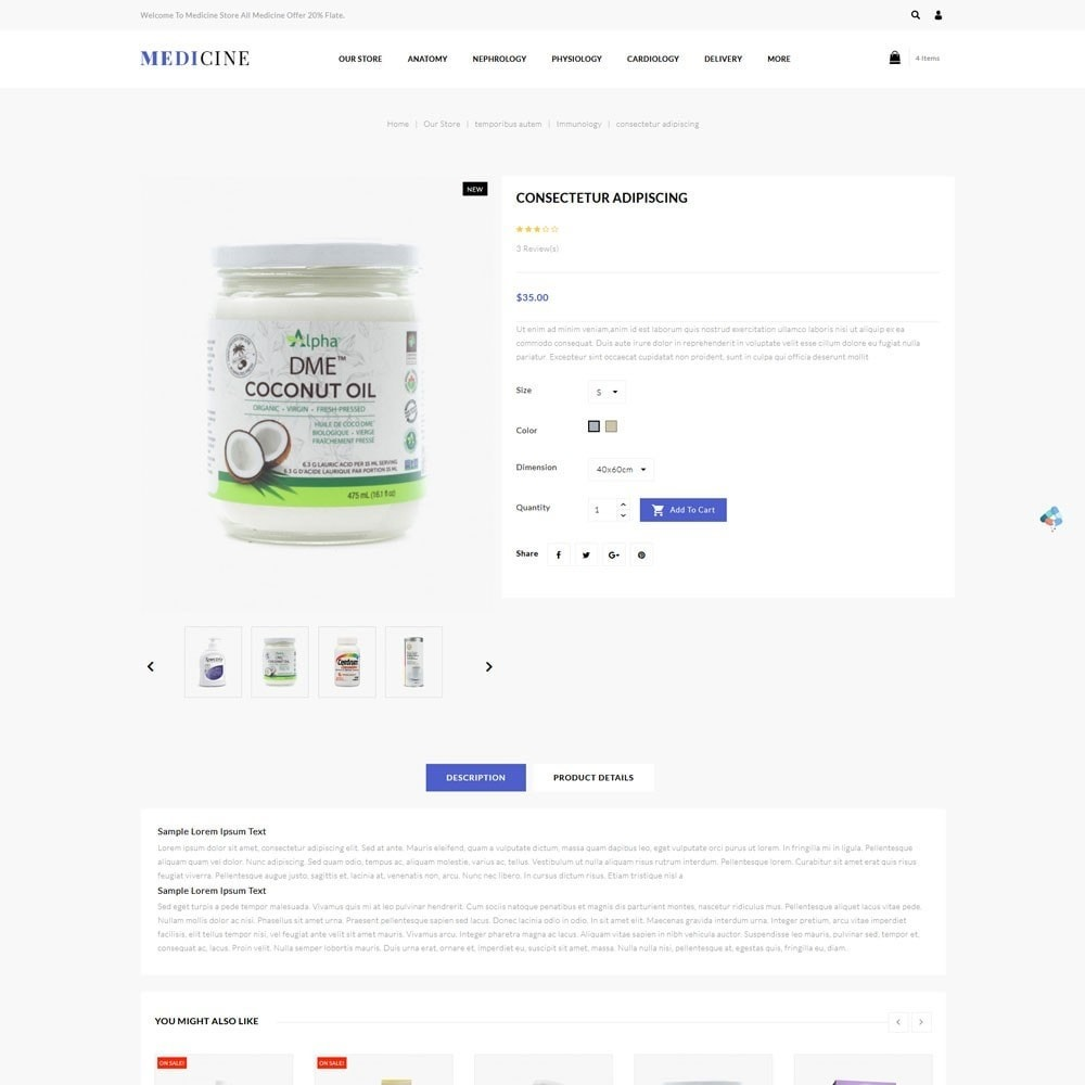 theme - Health & Beauty - Medicine - The Medical Store - 6
