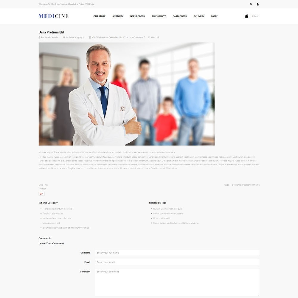 theme - Health & Beauty - Medicine - The Medical Store - 7