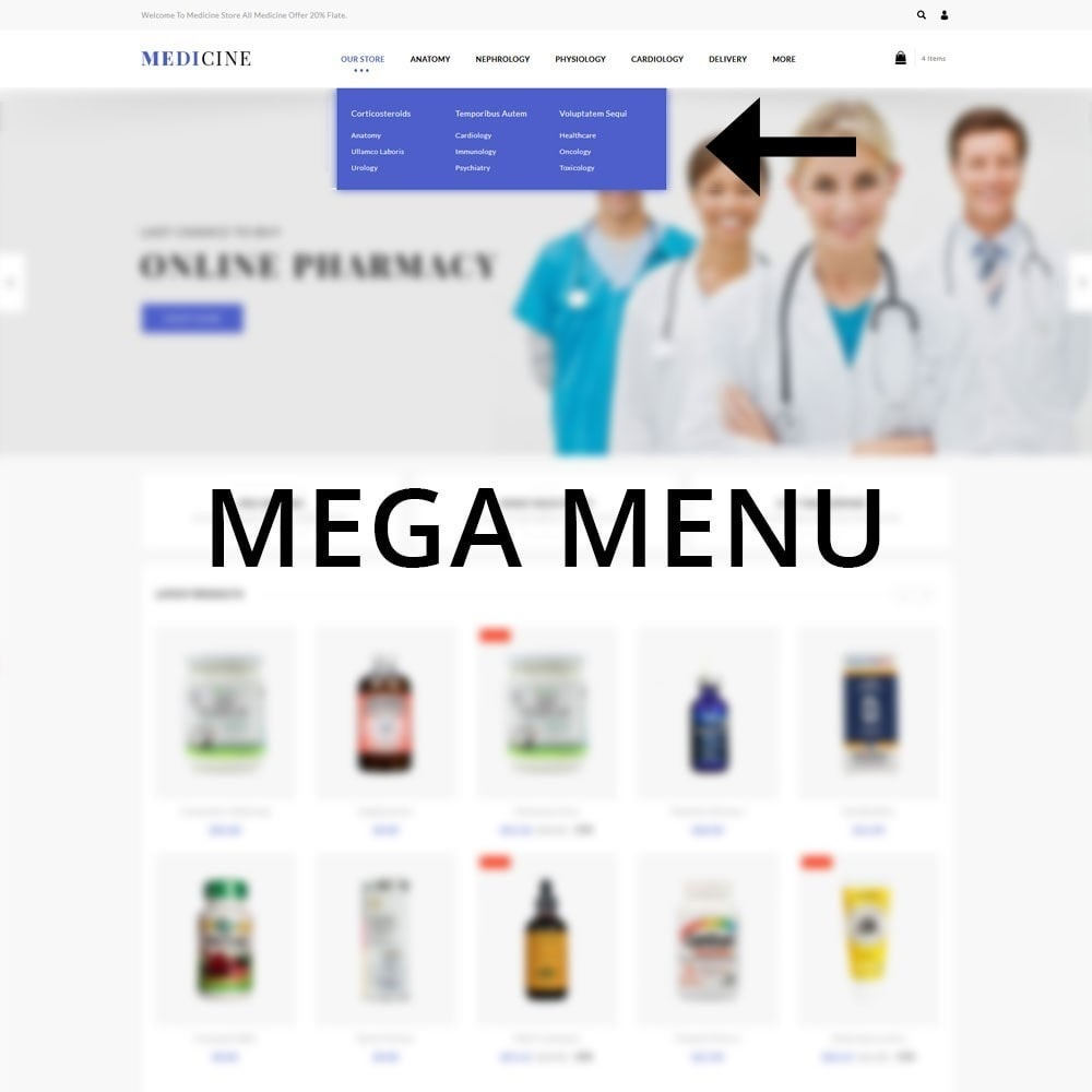 theme - Health & Beauty - Medicine - The Medical Store - 8