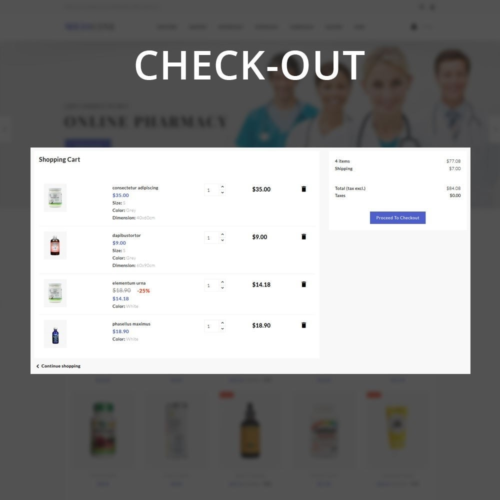 theme - Health & Beauty - Medicine - The Medical Store - 13