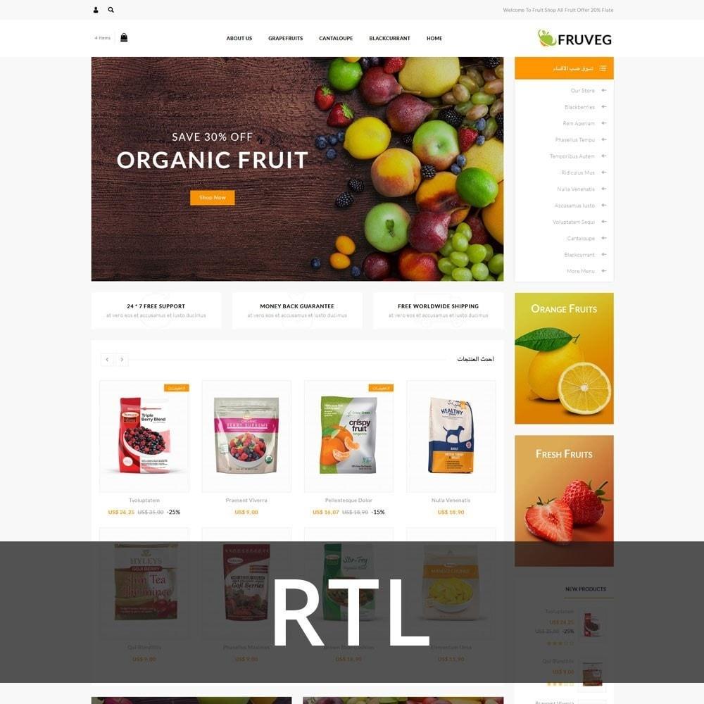 theme - Продовольствие и рестораны - Fruveg - The Grocery Store - 3