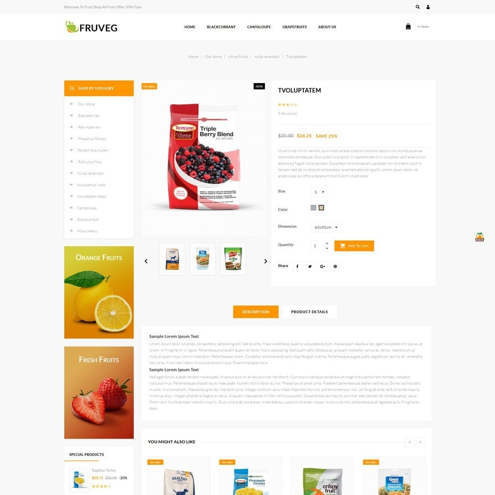 theme - Alimentation & Restauration - Fruveg - The Grocery Store - 6