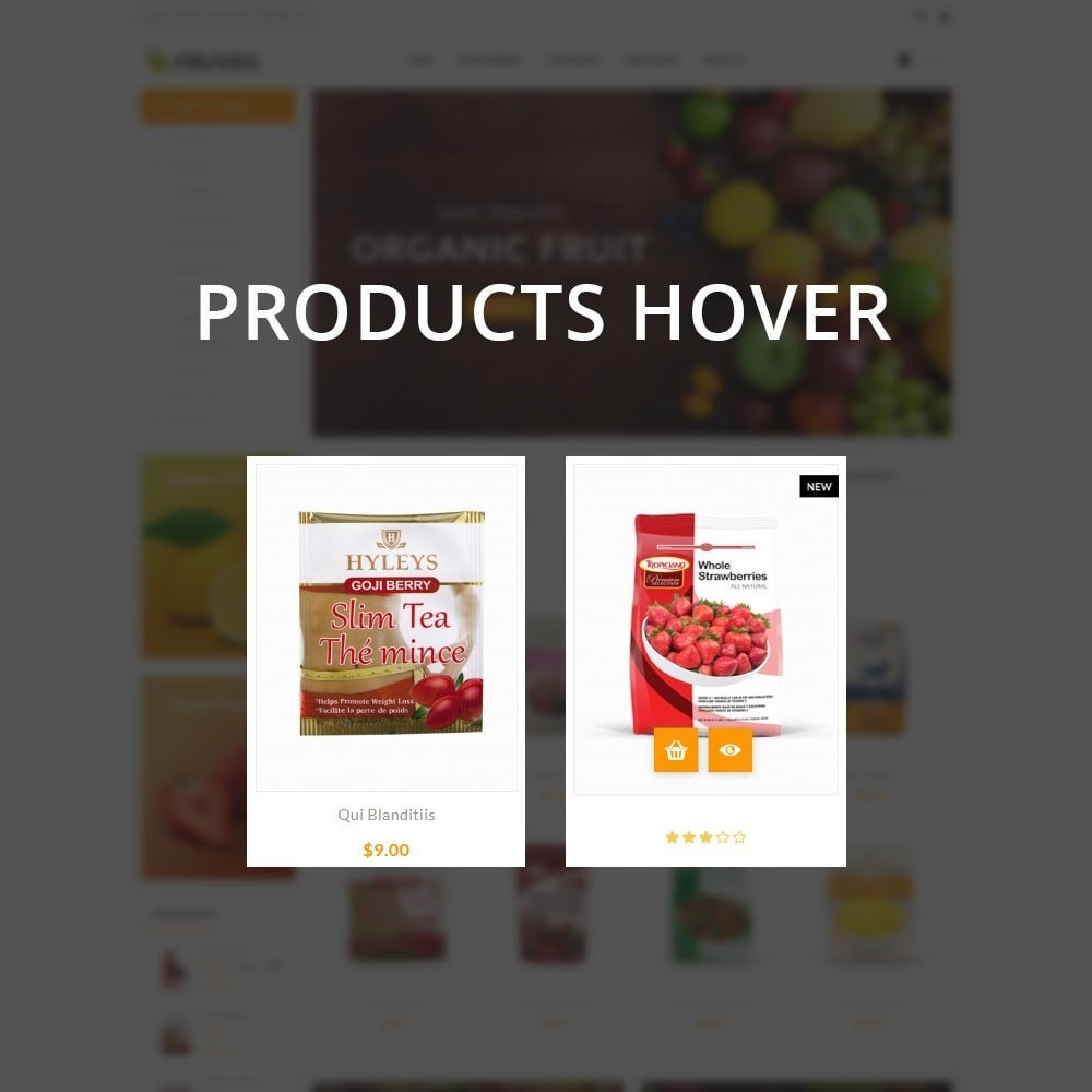 theme - Alimentation & Restauration - Fruveg - The Grocery Store - 11