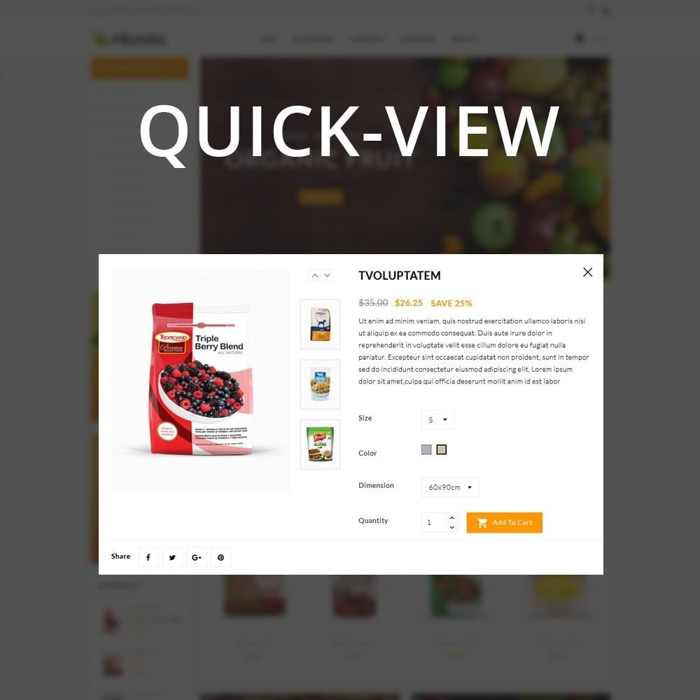 theme - Alimentation & Restauration - Fruveg - The Grocery Store - 12