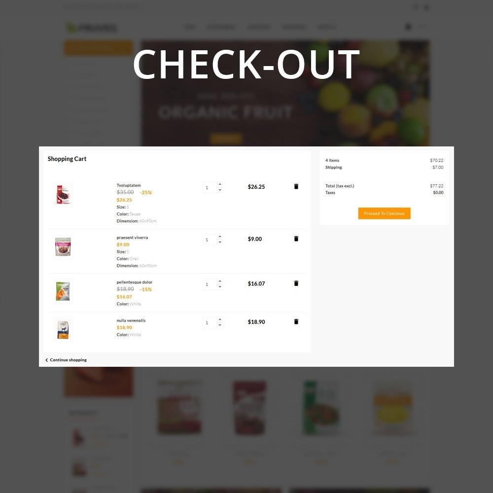 theme - Alimentation & Restauration - Fruveg - The Grocery Store - 13