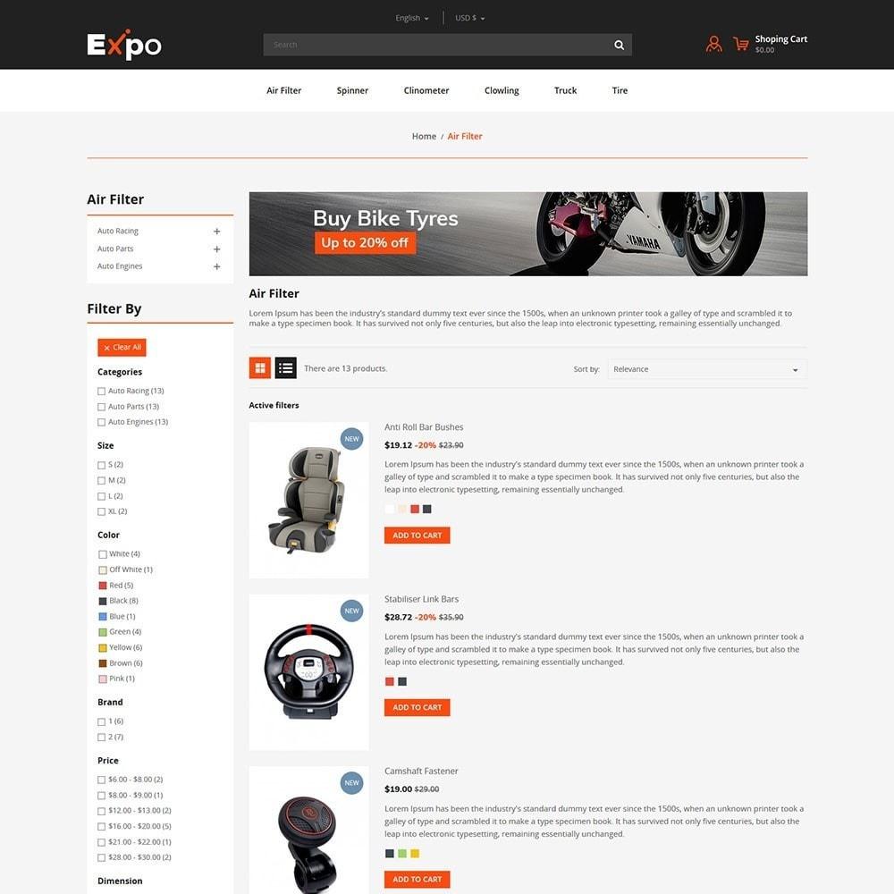 theme - Automotive & Cars - Tool - Auto Store - 4