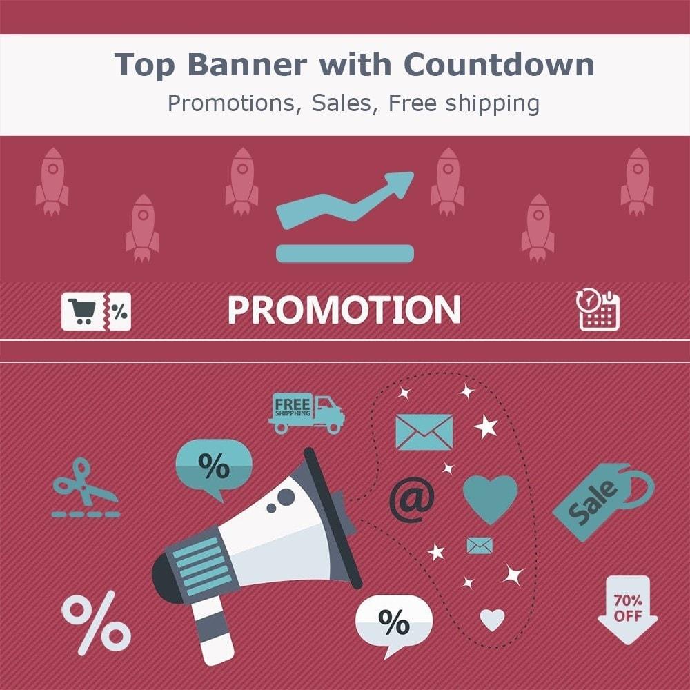 module - Promociones y Regalos - Top banner. Promotions, Sales, Free shipping, Countdown - 1