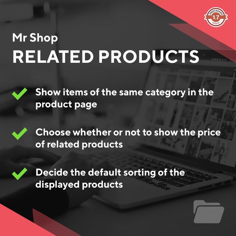 module - Sprzedaż krzyżowa & Pakiety produktów - Mr Shop Related Products - 1