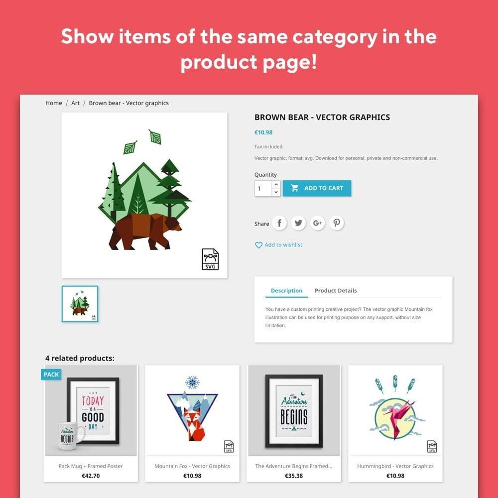 module - Sprzedaż krzyżowa & Pakiety produktów - Mr Shop Related Products - 2